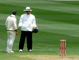 Not Ricky Ponting's finest moment