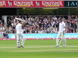Trott gets his 50